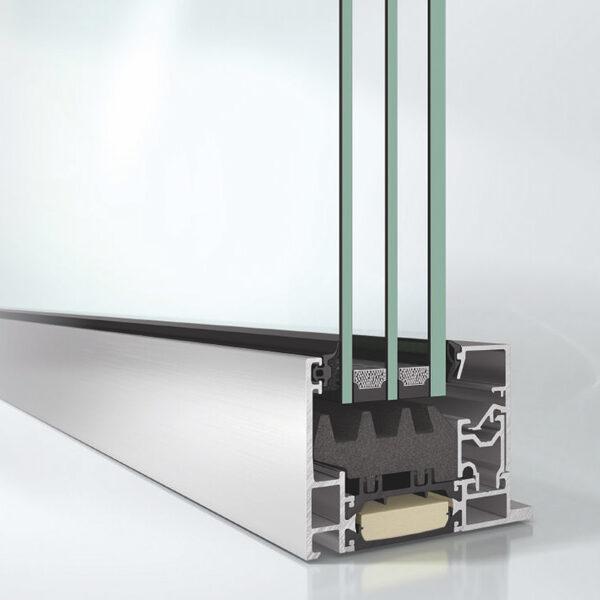 Finestra Alluminio AWS 75 Sucho FTF Serramenti